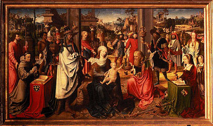 Follower of Jan Gossaert, Adoration of the Kings