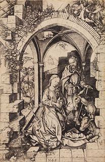 Schongauer, Nativity