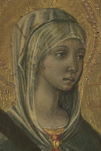 fig. 36  Detail of Saint Agatha's veil, Private Collection