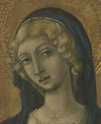 fig. 37  Detail of Saint Lucy's curls, Private Collection