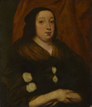 Flemish: 'Portrait of an Elderly Woman'