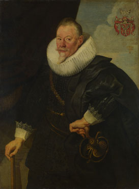Flemish: 'Portrait of a Man'