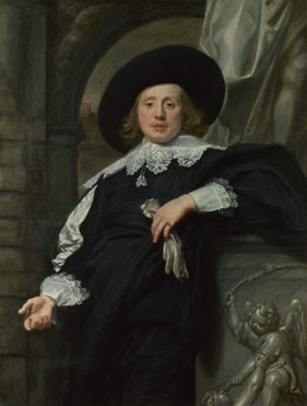 Attributed to Flemish: 'Portrait of a Man'