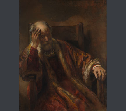 Follower of Rembrandt, 'An Old Man in an Armchair', 1650s