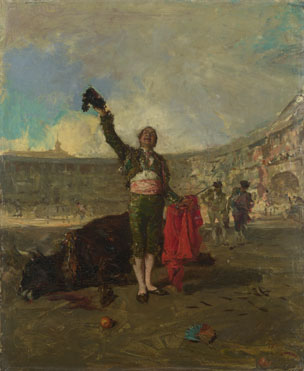 Mariano Fortuny: 'The Bull-Fighter's Salute'