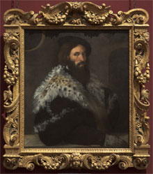 Titian, Portrait of Girolamo Fracastoro, about 1528