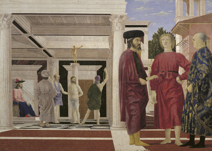 Piero della Francesca: 'The Flagellation'.