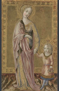 Francesco di Giorgio, Saint Dorothy and the Infant Christ