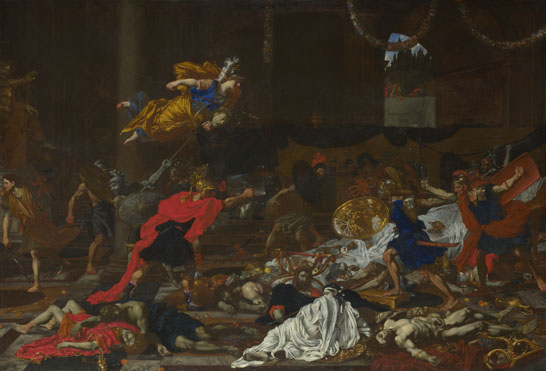 French or Flemish: 'Perseus turning the Followers of Phineus into Stone'