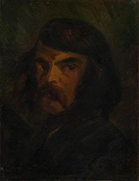 French: 'Portrait of a Man (Victor Considérant?)'