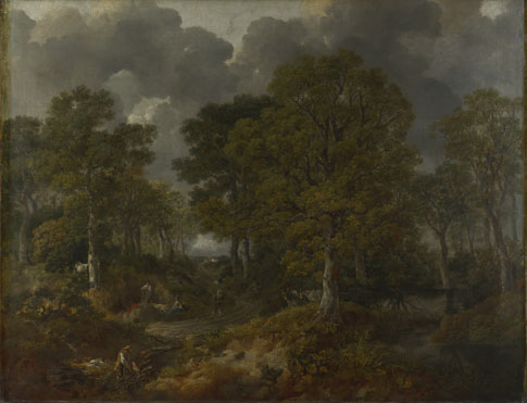 Thomas Gainsborough: 'Cornard Wood, near Sudbury, Suffolk'