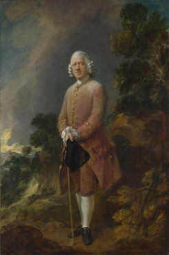 Thomas Gainsborough: 'Dr Ralph Schomberg'