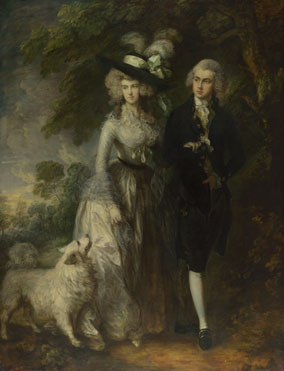 Thomas Gainsborough: 'Mr and Mrs William Hallett ('The Morning Walk')'