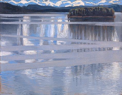 Akseli Gallen-Kallela: 'Lake Keitele'