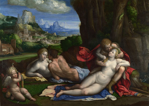 Garofalo: 'An Allegory of Love'