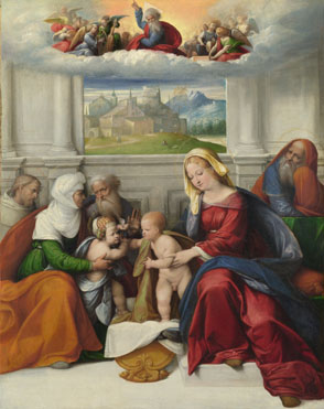 Garofalo: 'The Holy Family with Saints'