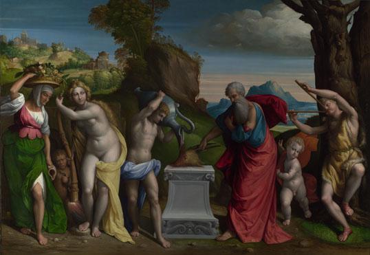 Garofalo: 'A Pagan Sacrifice'