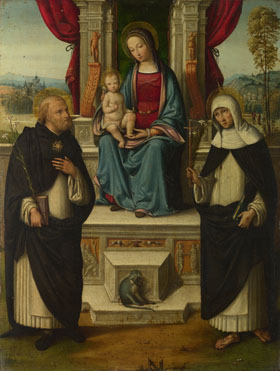 Garofalo: 'The Virgin and Child with Saints'