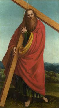 Gaudenzio Ferrari: 'Saint Andrew (?)'