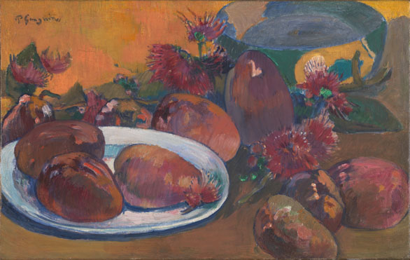 Paul Gauguin: 'Still Life with Mangoes'