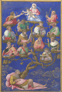 Attributed to Girolamo Genga: 'A Jesse-Tree'