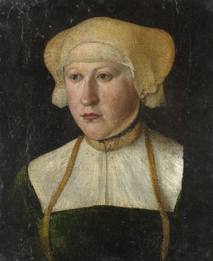 German: 'Portrait of a Woman'