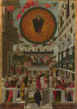 Gerolamo da Vicenza: 'The Dormition and Assumption of the Virgin'