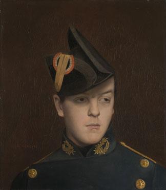 Jean-Léon Gérôme: 'Portrait of Armand Gérôme'
