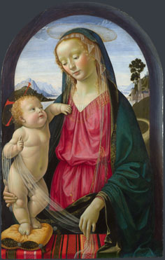 Domenico Ghirlandaio: 'The Virgin and Child'