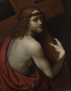 Giampietrino: 'Christ carrying his Cross'