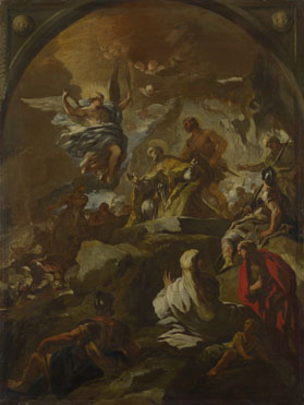 Luca Giordano: 'The Martyrdom of Saint Januarius'