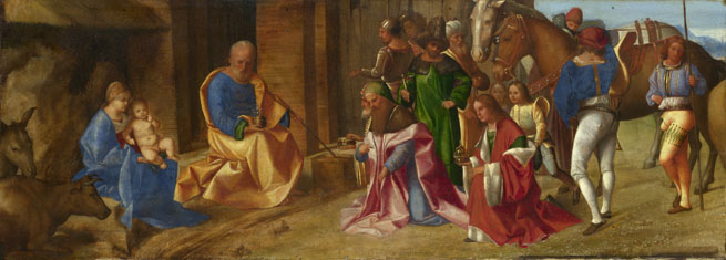 Giorgione: 'The Adoration of the Kings'