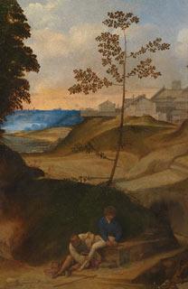 Giorgione, 'Il Tramonto (The Sunset)'
