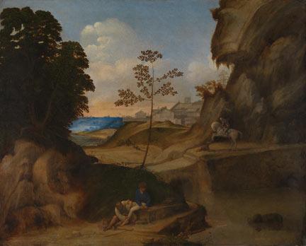 Giorgione, 'Il Tramonto (The Sunset)', 1506-10