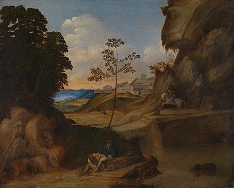 Giorgione: 'Il Tramonto (The Sunset)'
