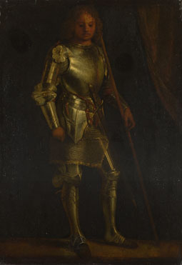 Imitator of Giorgione: 'A Man in Armour'