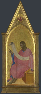 Giovanni da Milano: 'Saint John the Baptist: Right Pinnacle Panel'
