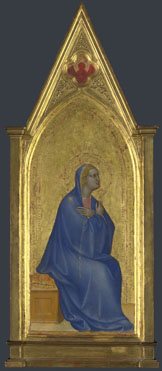 Giovanni da Milano: 'The Virgin: Left Pinnacle Panel'