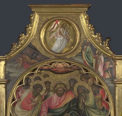 Giovanni dal Ponte: 'The Descent into Hell: Roundel above Centre Panel'