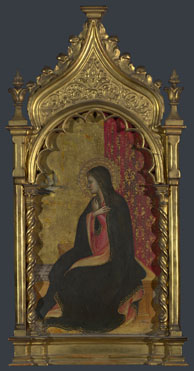Giovanni dal Ponte: 'The Virgin Annunciate: Right Pinnacle'