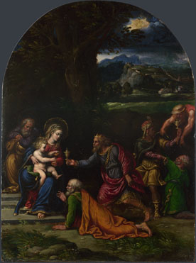 Girolamo da Carpi: 'The Adoration of the Kings'