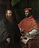 Cardinal Ippolito de' Medici and Monsignor Mario Bracci