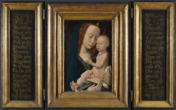 Follower of Hugo van der Goes: 'Virgin and Child'