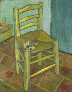 Vincent van Gogh: 'Van Gogh's Chair'