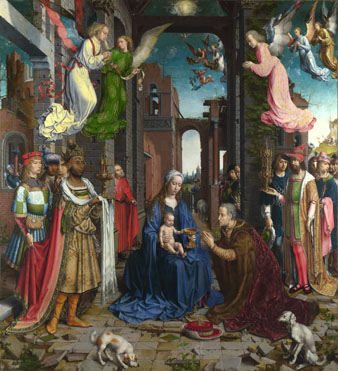 Jan Gossaert: 'The Adoration of the Kings'