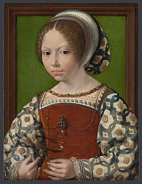 Jan Gossaert: 'A Little Girl'