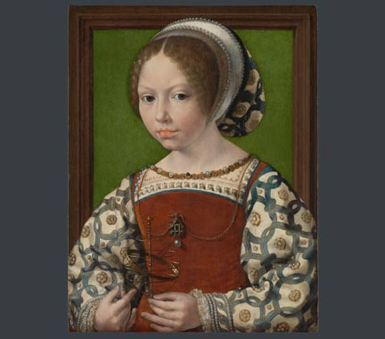 Jan Gossaert, 'A Young Princess (Dorothea of Denmark?)', about 1530