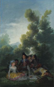 Francisco de Goya: 'A Picnic'