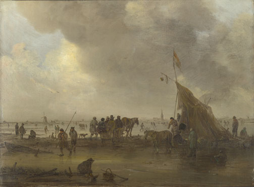 Jan van Goyen: 'A Scene on the Ice'