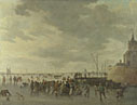 A Scene on the Ice near Dordrecht